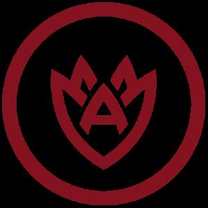 AFGC main logo flower circle