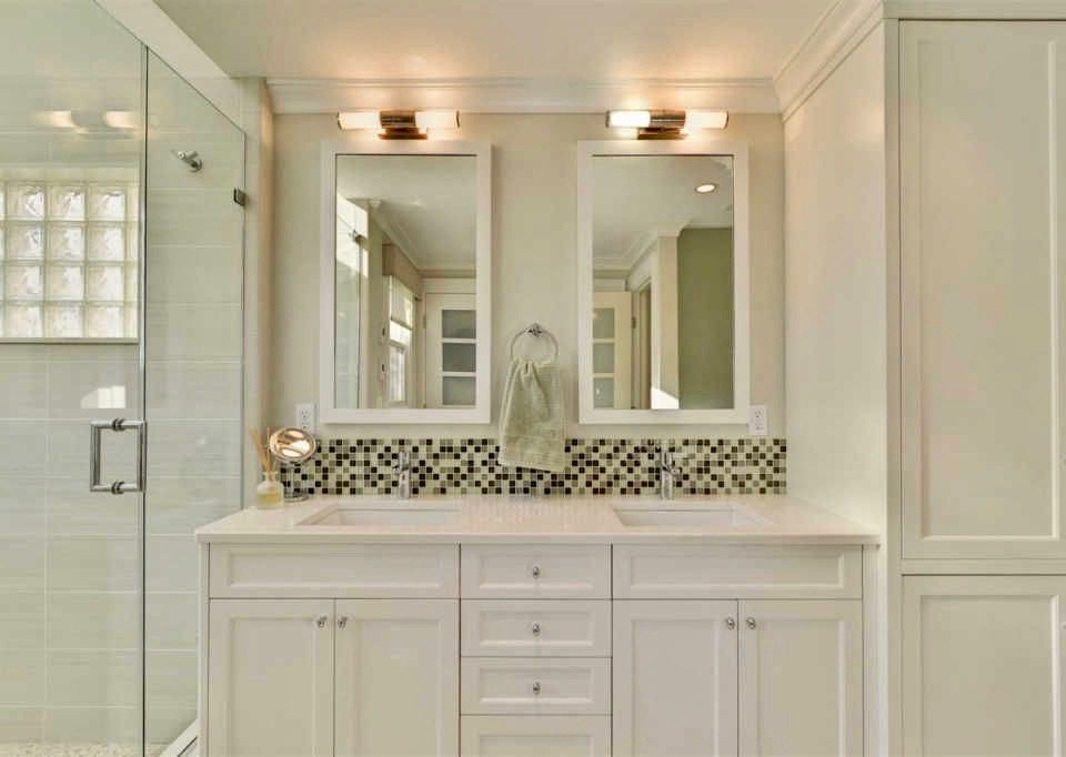 Master Bathroom Double Vanity Sink