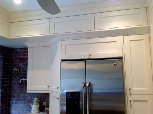 after Hoboken Brownstone Kitchen 1 Panel Cabinet Doors