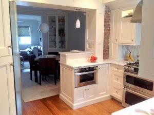 after Hoboken Brownstone Kitchen