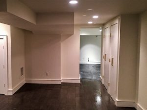 after madison woodland interior Basement Gym Entrance