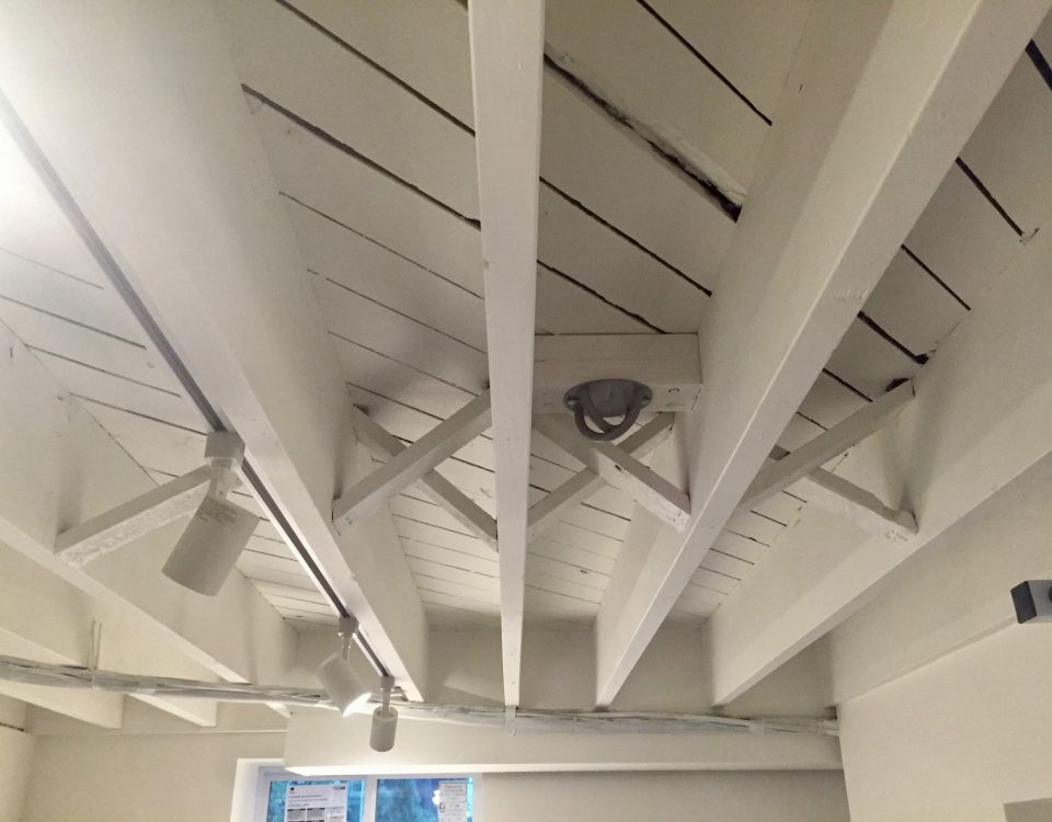 after madison woodland interior Gym Ceiling After