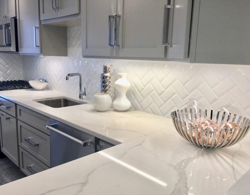 after pictures little falls 1 kitchen Calacatta quartz countertops