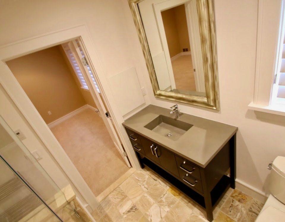 bathroom west orange 1 Concrete Vanity Countertop