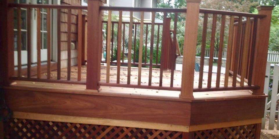 gates montclair exterior Mahogany Deck