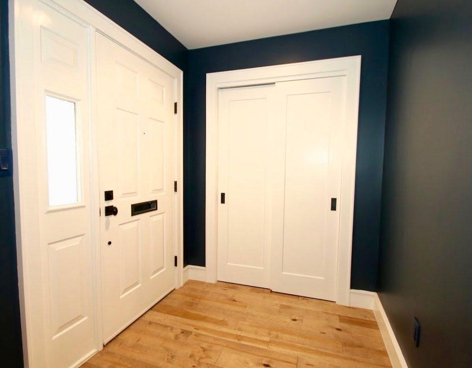 interior west orange 1 Multi Panel Front Door with Side Window