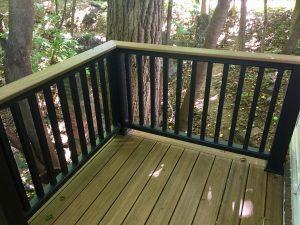 montclair macopin exterior Trex Deck After