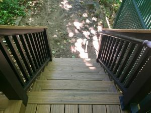 montclair macopin exterior Trex Stairs After