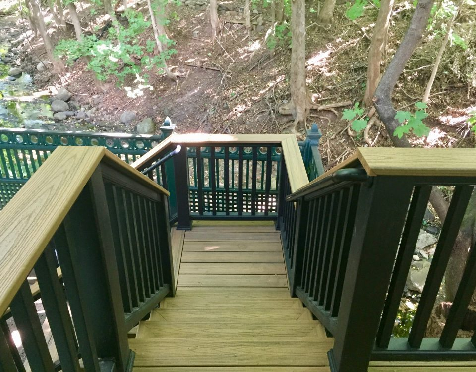 montclair macopin exterior after Deck with Black Handrail