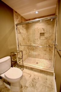 west orange 1 Hall Bathroom with Shower