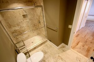 west orange 1 Hall Bathroom with Shower1