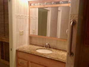 west orange 1 Master Bathroom Before 1